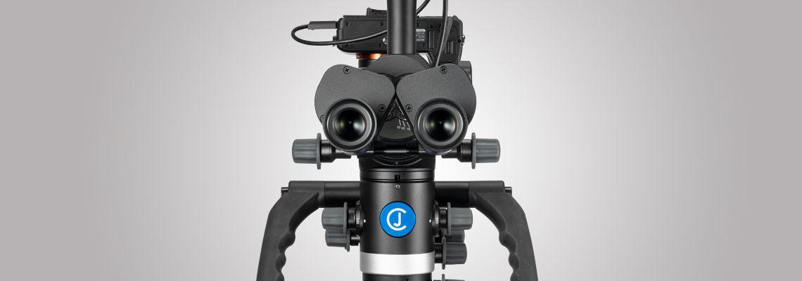 3MC-Concept - Microscope CJ-Optik Advanced - Sony Alpha 7 - IPD - Swivel - Tubes avec vario F250 vue de face - Copyright CJ-Optik