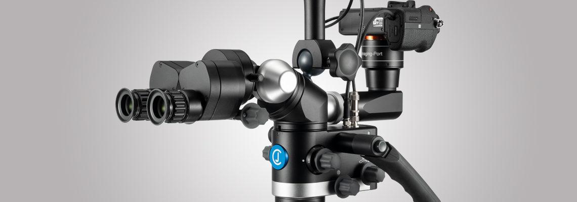 3MC-Concept - Microscope CJ-Optik Advanced - Sony Alpha 7 - IPD - Swivel - Tubes avec vario 200 vue de droite - Copyright CJ-Optik