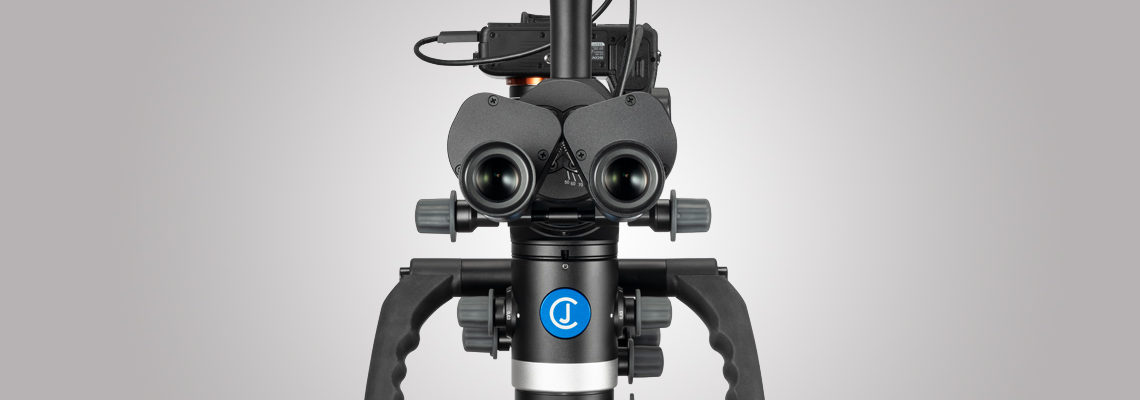 3MC-Concept - Microscope CJ-Optik Advanced - Sony Alpha 7 - IPD - Swivel - Tubes avec vario 200 vue de face - Copyright CJ-Optik