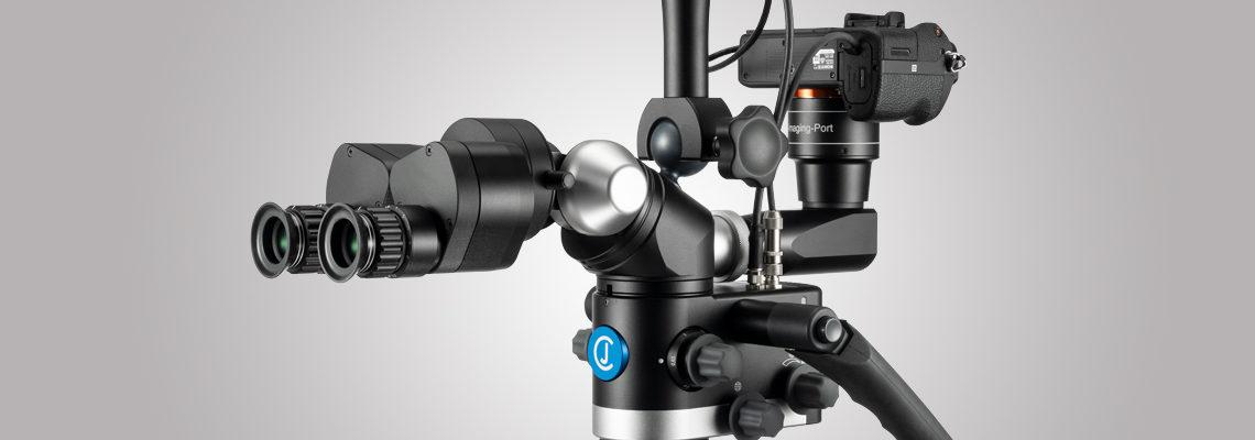 3MC-Concept - Microscope CJ-Optik Advanced - Sony Alpha 7 - Swivel - Tubes avec vario 200 vue de droite - Copyright CJ-Optik