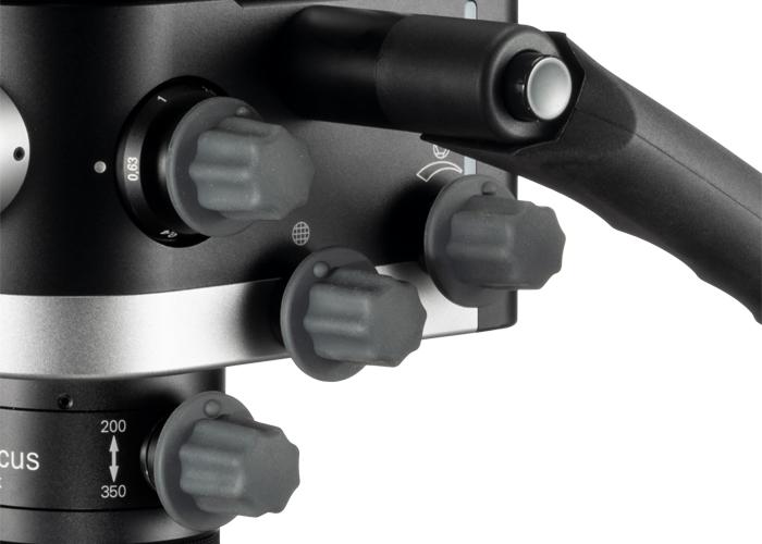 3MC-Concept - Microscope CJ-Optik - Advanced Sensor Unit - Détail boutons - Copyright CJ-Optik
