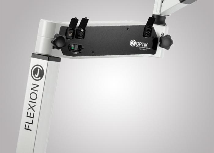 3MC-Concept - Microscope CJ-Optik Advanced - Gestion des câbles - Copyright CJ-Optik