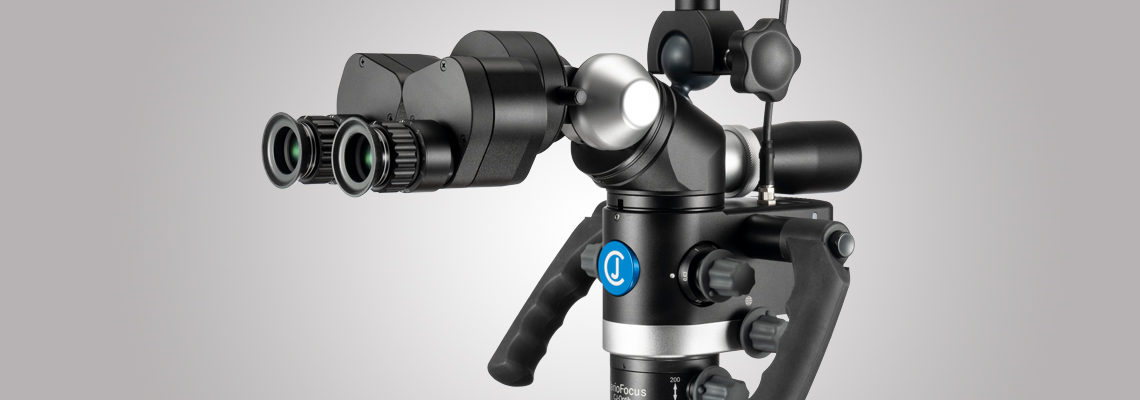 3MC-Concept - Microscope CJ-Optik Basic - VarioFocus 250-350 - Vue de droite - Copyright CJ-Optik