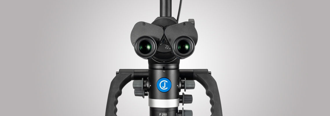 3MC-Concept - Microscope CJ-Optik Basic - VarioFocus F250 - Vue de face - Copyright CJ-Optik