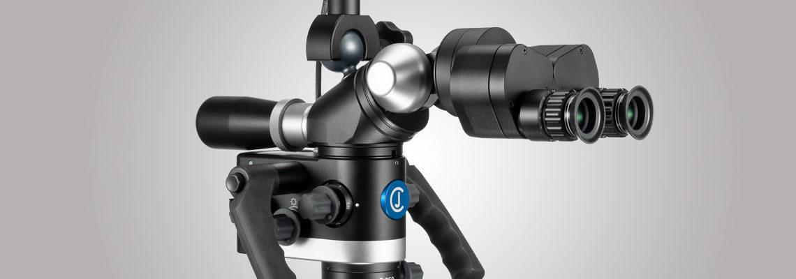 3MC-Concept - Microscope CJ-Optik Basic - VarioFocus F250 - Vue de gauche - Copyright CJ-Optik