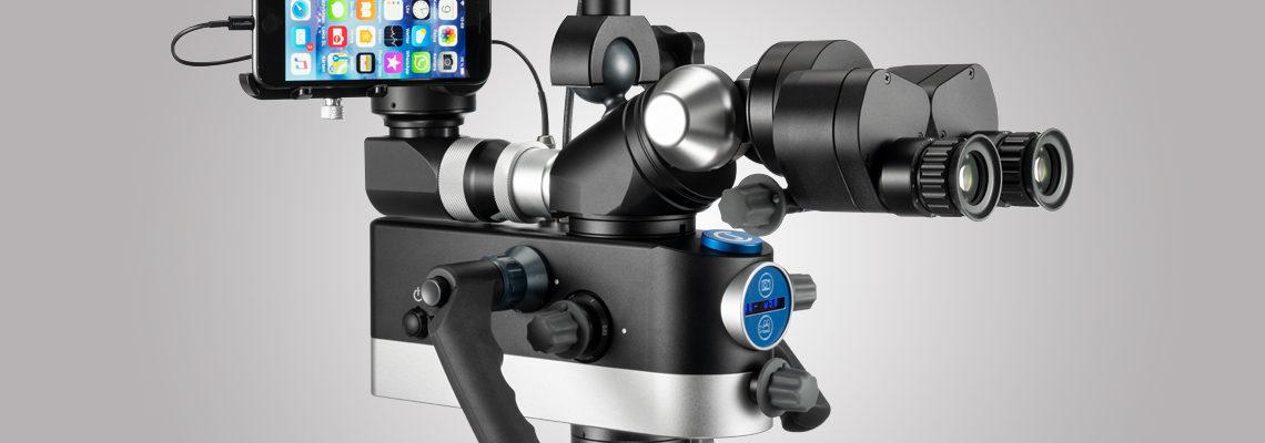 3MC-Concept - Microscope CJ-Optik Flexion Twin - Adaptateur SmartPhone - Copyright CJ-Optik