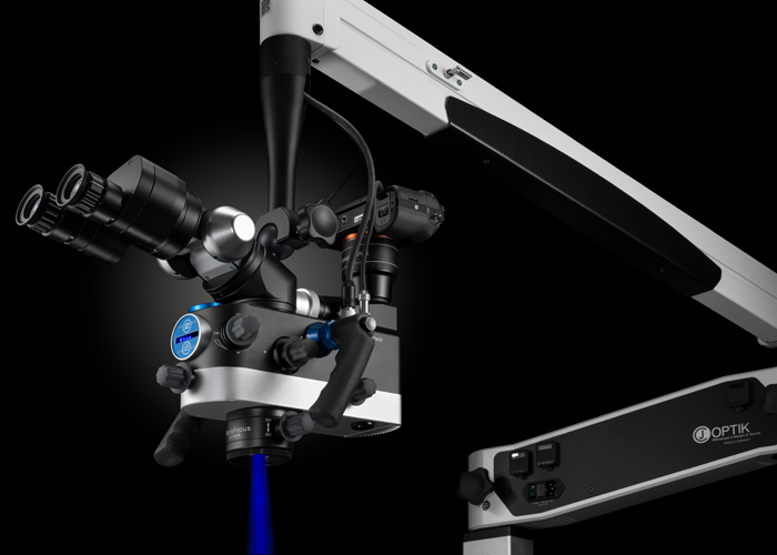3MC-Concept - Microscope CJ-Optik Flexion Twin - Fluo LED Bleue - Copyright CJ-Optik