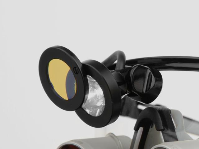 3MC-Concept - I.C.Lercher - Led Light Plus - Filtre orange pivotant - Copyright I.C.Lercher